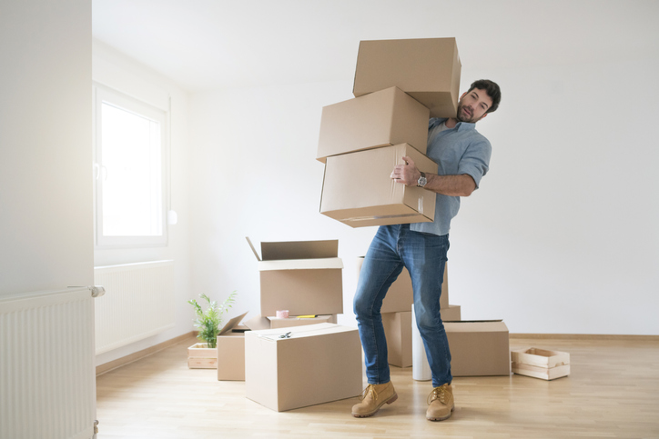 One of the Spouses Moves Out During a Divorce